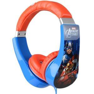Cuffie Sakar 30343-int Avengers - Blu/Rosso