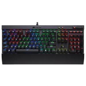 Corsair Tastatur QWERTY Englisch (US) mit Hintergrundbeleuchtung K70 Rapidfire
