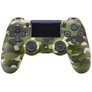 Manette PS4 Sony Dual Shock V2 - Vert Camouflage