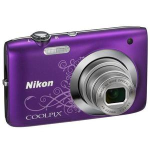 Compact Nikon Coolpix S2600 - Violet