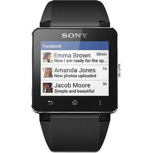 Kellot Sony SmartWatch 2 SW2 - Musta/Harmaa