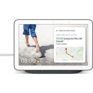 Voice Assistant Google Nest Hub Charbon