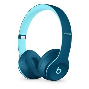 Casque avec Micro Beats Solo 3 Wireless - Pop Bleu
