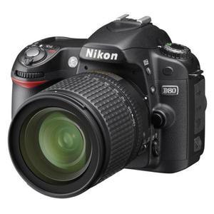 Reflex Nikon D80 Schwarz + Objektiv Af-s Nikkor 18-70 mm 1: 3,5-4,5 g Äq.