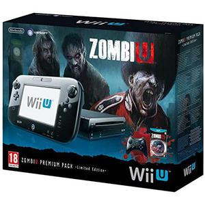 Konsoli Nintendo Wii U 32GB + Zombie U - Musta