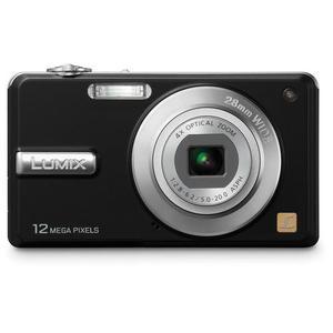 Kompaktkamera Panasonic Lumix DMC-F3 - Schwarz + Objektiv Panasonic 28-112 mm f/2.8-6.2