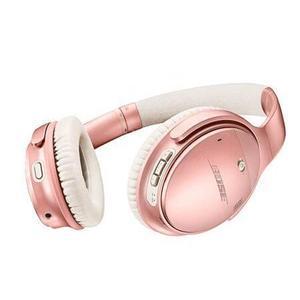 Kopfhörer Rauschunterdrückung Bluetooth mit Mikrophon Bose QuietComfort 35 II - Roségold