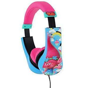 Casque Techtraining Kid Safe Trolls - Bleu/Rose