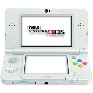 Nintendo New 3DS 4GB -pelikonsoli + Style Boutique 2 - Valkoinen