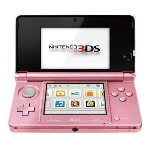 Portable Konsole Nintendo 3DS 4GB + Nintendogs + Cats - Korallenrosa