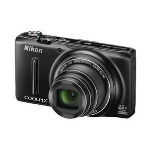 Compactcamera Nikon Coolpix S9500 Zwart + Lens Nikon Nikkor 22x Optical Zoom 25-550 mm f/3.4-6.3
