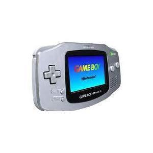 Console Nintendo Game Boy Advance Platinum - Argent