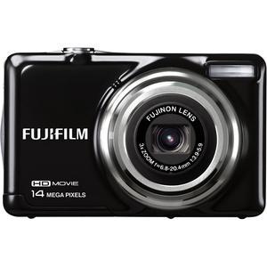 Compact Fujifilm FinePix JV500 - Musta + Objektiivi Fujifilm 38-114mm f/3.9-5.9