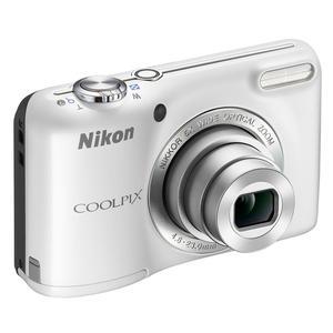 Komapktkamera Nikon CoolPix L27 Weiß + Objektiv Nikon Nikkor 5x Wide Optical Zoom 26-130 mm f/3.2-6.5
