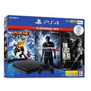 PlayStation 4 Slim - HDD 500 GB - Black