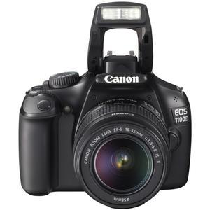 Κάμερα Reflex Canon EOS 1100D - Μαύρο + Φωτογραφικός φακός Canon EF-S 18-55mm f/3.5-5.6 IS II