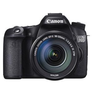 SLR Canon EOS 70D + Objektiv 18-135 mm