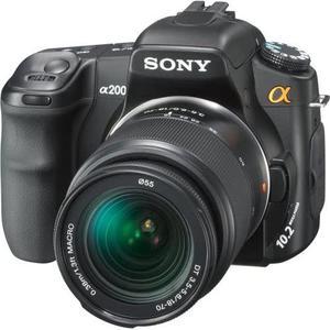 Reflex - Sony Alpha DSLR-A200 Noir Sony DT 18-70mm f/3.5-5.6