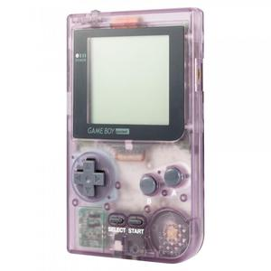 Console Nintendo Gameboy Pocket - Violet Transparent