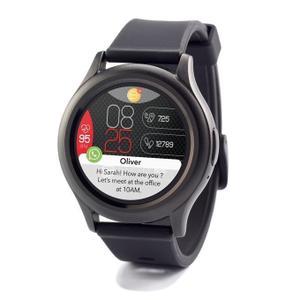 Horloges Cardio Mykronoz ZeRound3 - Zwart