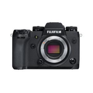 Híbrido - Estuche Bare para Fujifilm X-H1 - Negro