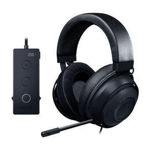 Kopfhörer Rauschunterdrückung Gaming    mit Mikrophon Razer Kraken Tournament Edition - Schwarz