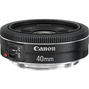 Objektiv Canon EF 40 mm 1: 2.8 STM - Schwarz
