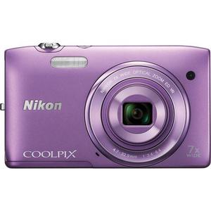 Compact Nikon Coolpix S3500 - Paars