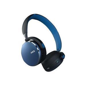 Casque Réducteur de Bruit Bluetooth avec Micro Akg Y500 Wireless - Bleu/Noir