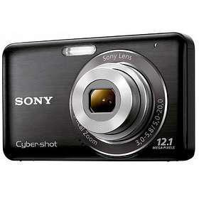 Kompakt Kamera Sony Cybershot DSC-W310 Schwarz + Objektiv Sony Lens 5-20 mm f/3.0-5.8