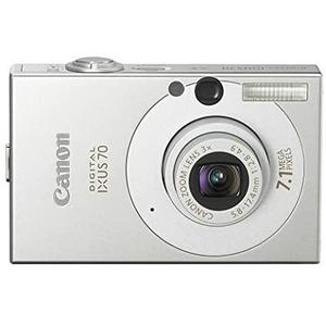 Kompakt Kamera - Canon IXUS 70 Silber Objektiv Canon ZOOM LENS 3x