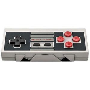 Controller Pack  8Bitdo NES30 + NES Mini Retro Adapter - Grijs