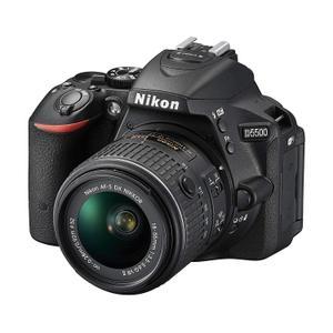 Spiegelreflexkamera - Nikon D5500 - Schwarz + Objektiv 18-55 mm 1: 3,5-5,6 G II ED