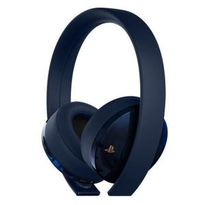 Cuffie Riduzione del Rumore Gaming con Microfono Sony Gold Draadloze Headset - 500 Million Limited Edition - Blu