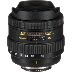 Objectif Tokina AT-X FishEye 10-17 mm