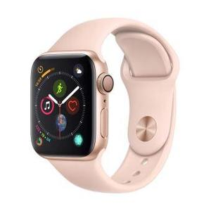 Apple Watch (Series 4) 40 - Aluminium Gold - Sport loop Pink