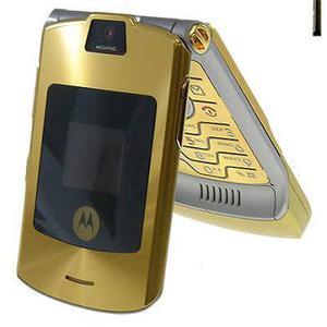 Motorola Razr V3i Dual Sim - Gold- Ohne Vertrag