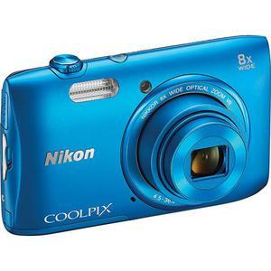 Kompakt Kamera Nikon Coolpix S3600 - Blau