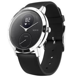 Horloges Cardio Nokia Steel HR - Zwart