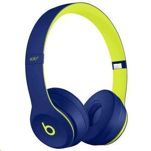 Casque   Bluetooth avec Micro Beats By Dr. Dre Solo 3 Wireless Indigo Pop - Bleu/Vert