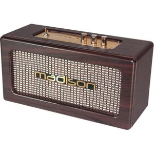 Enceinte Bluetooth Madison Freesound Vintage - Marron