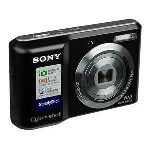Compact Camera Sony Cyber-Shot DSC-S2000 Zwart + Lens Sony Lens 3x Optical Zoom 35-105 mm f/3.1-5.6