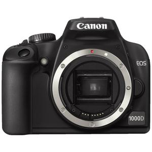 Reflex Canon EOS 1000D Alleen Body - Zwart