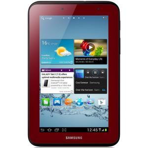 """Galaxy Tab 2 (Août 2012) 7"""" 8 Go - WiFi - Rouge - Sans Port Sim"""
