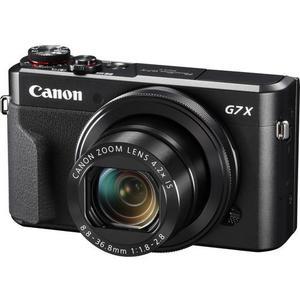 Kompaktikamera Canon PowerShot G7X Mark II - Musta + objektiivi Canon Zoom Lens 24-100 mm f/1.8-2.8