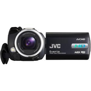 Camcorder JVC Everio GZ-HD10 - Schwarz/Silber