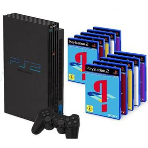 Console Playstation 2 Fat 40 Go + 10 Jeux