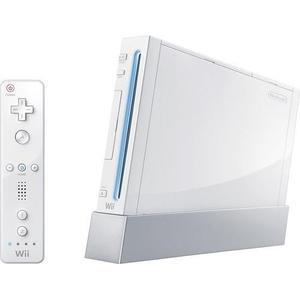 Console Nintendo Wii + Pack mario kart 4 joueur - Blanc