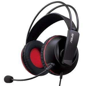 Casque Réducteur de Bruit Gaming avec Micro Asus Cerberus - Noir/Rouge