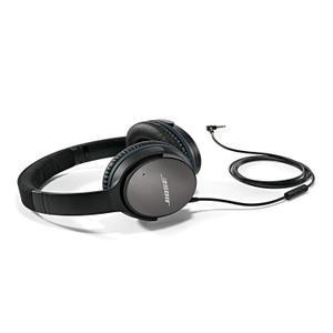 Casque Réducteur de Bruit Bluetooth avec Micro Bose QC 25 - Noir